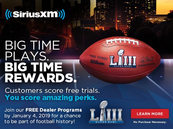 Join our FREE Pre-Owned Program by January 4, 2019 for a chance to be part of football history!